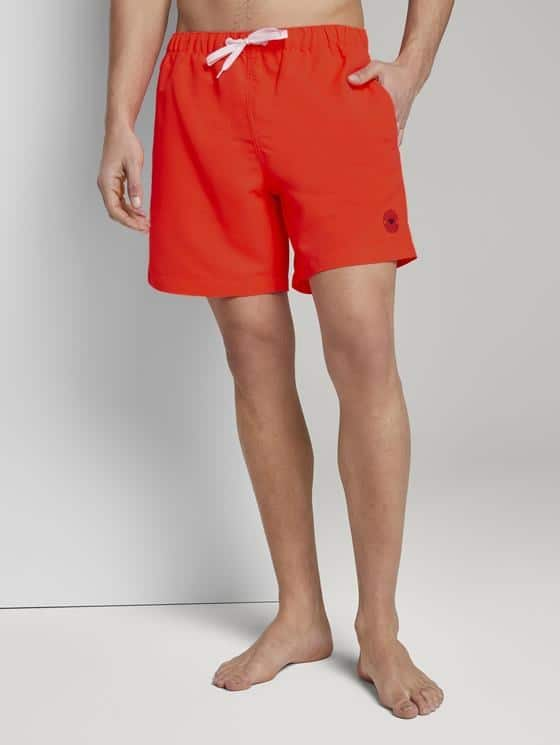 Tom Tailor Zwemshort Oranje