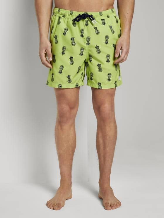Tom Tailor Zwemshort Ananas