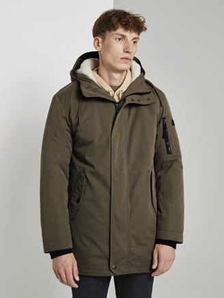 Tom Tailor Parka Groen 1020243