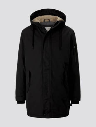 Tom Tailor Parka Zwart 1020243