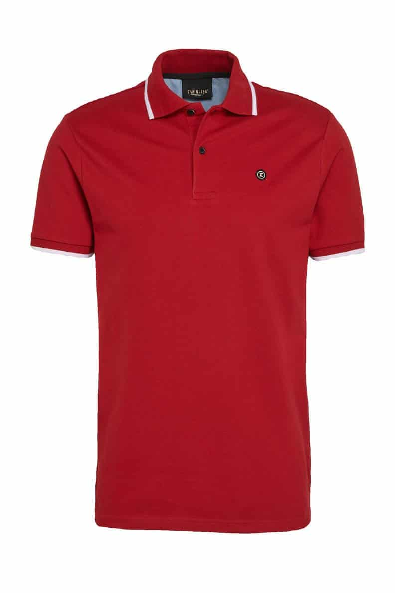 TWINLIFE – TW11605 RED – POLO
