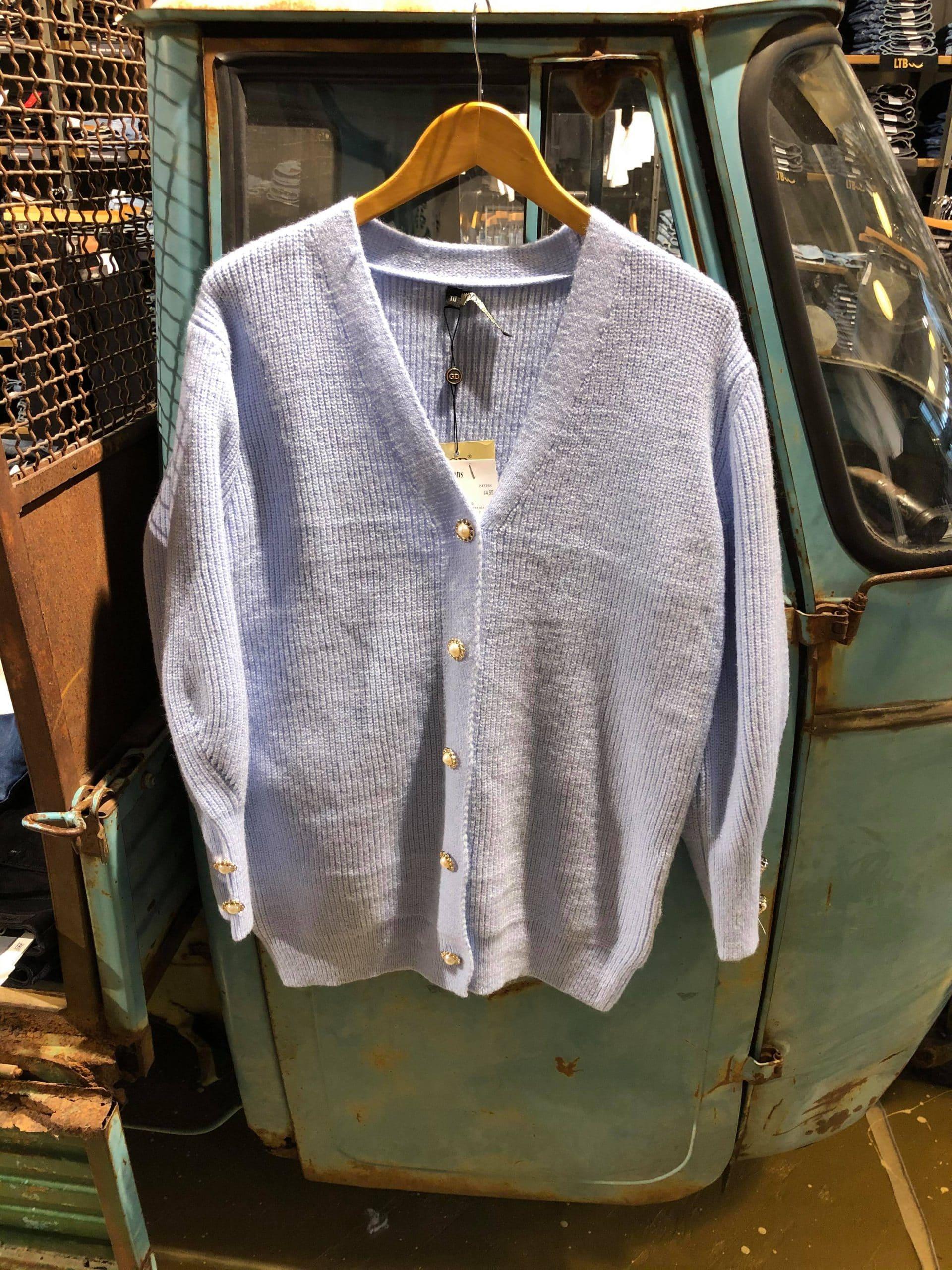 Vest Lichtblauw y759